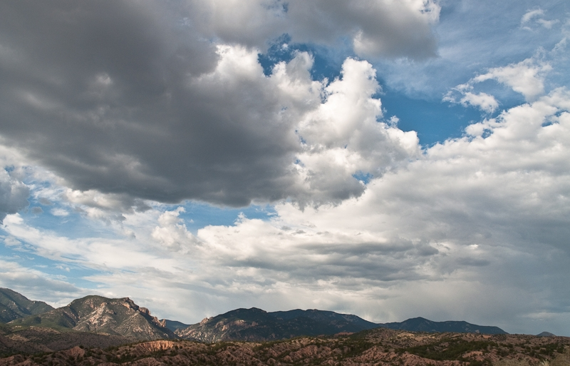 Sky Over Gila Wilderness